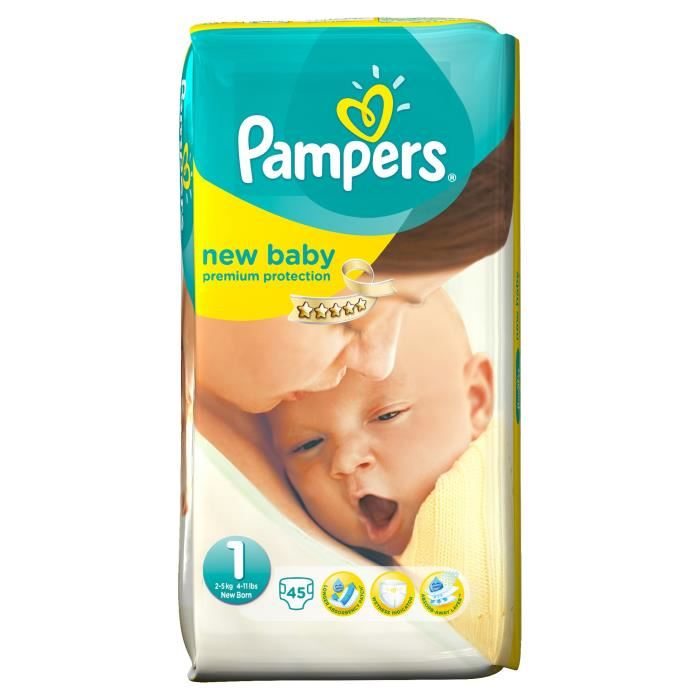 prix pampers new baby