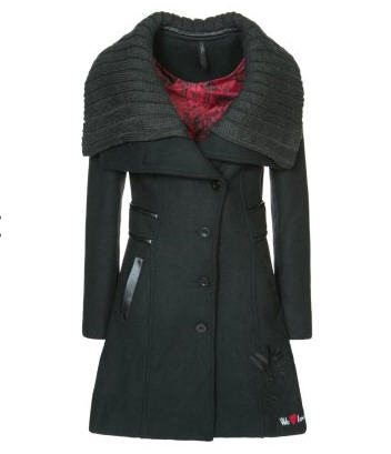 promo manteau desigual