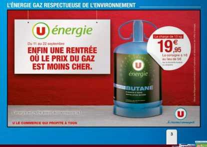 promotion bouteille de gaz
