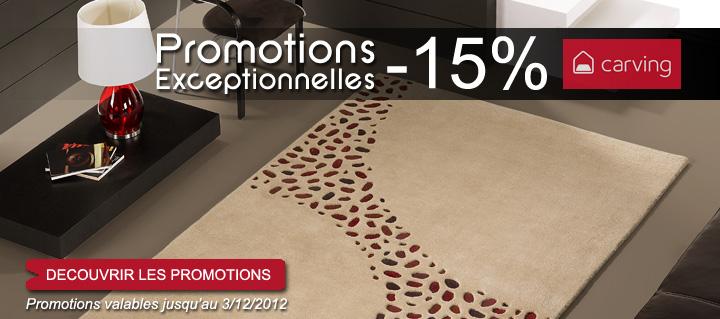 promotion tapis