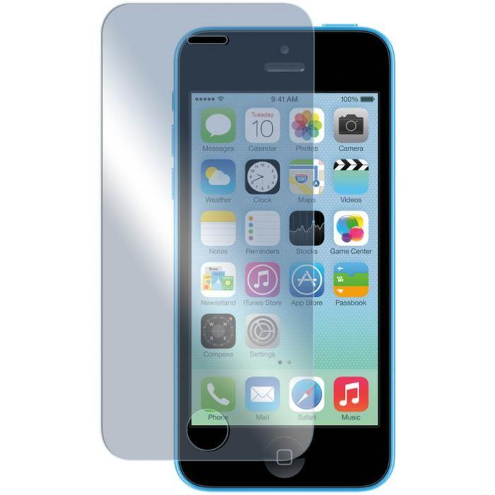 protection ecran verre trempé iphone 5c
