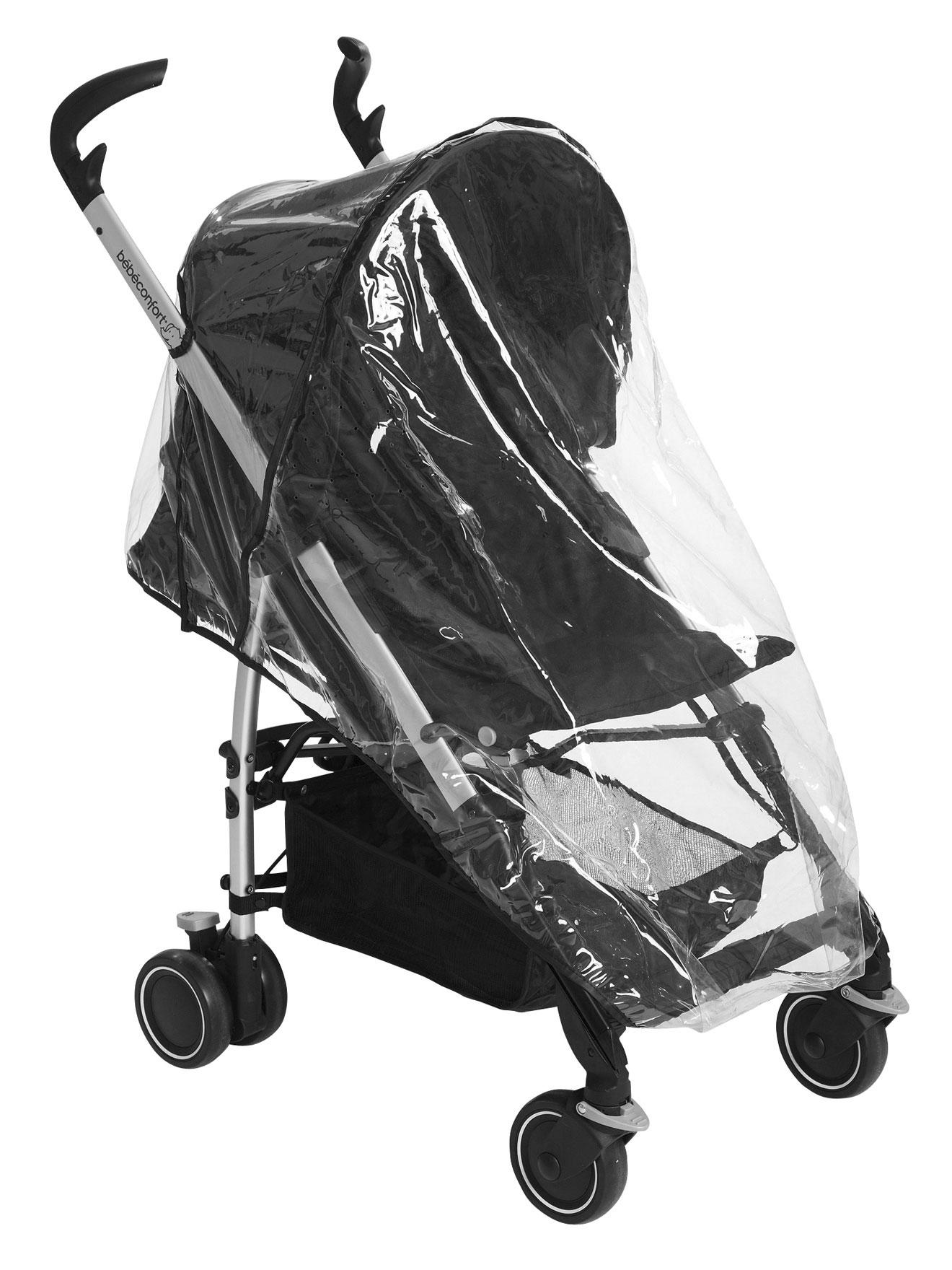 protection pluie poussette bébé confort