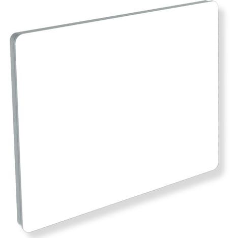 radiateur electrique verre blanc