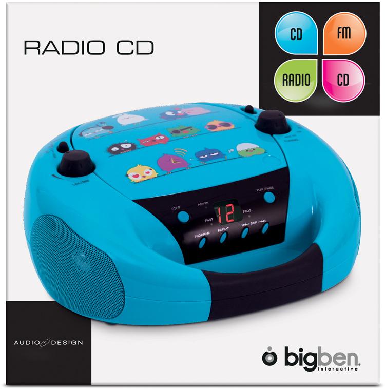 radio cd bigben