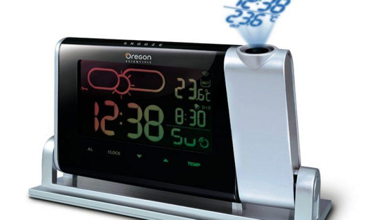 radio réveil avec projection de l\'heure au plafond