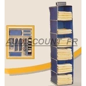 rangement penderie tissu