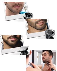 rasoir electrique taille barbe