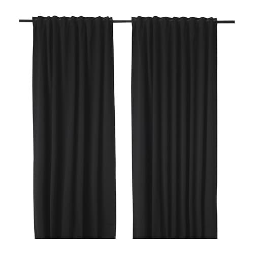 rideaux occultants noir