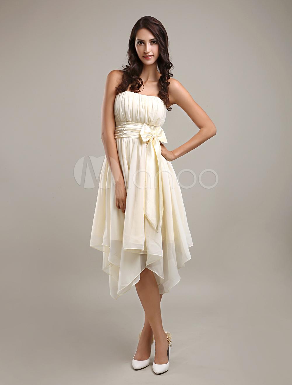 robe demoiselle d honneur ivoire