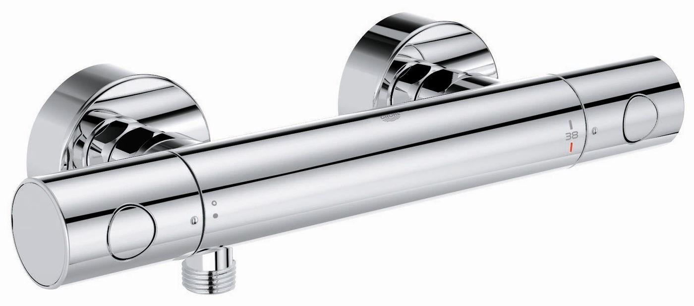 robinet de douche thermostatique grohe
