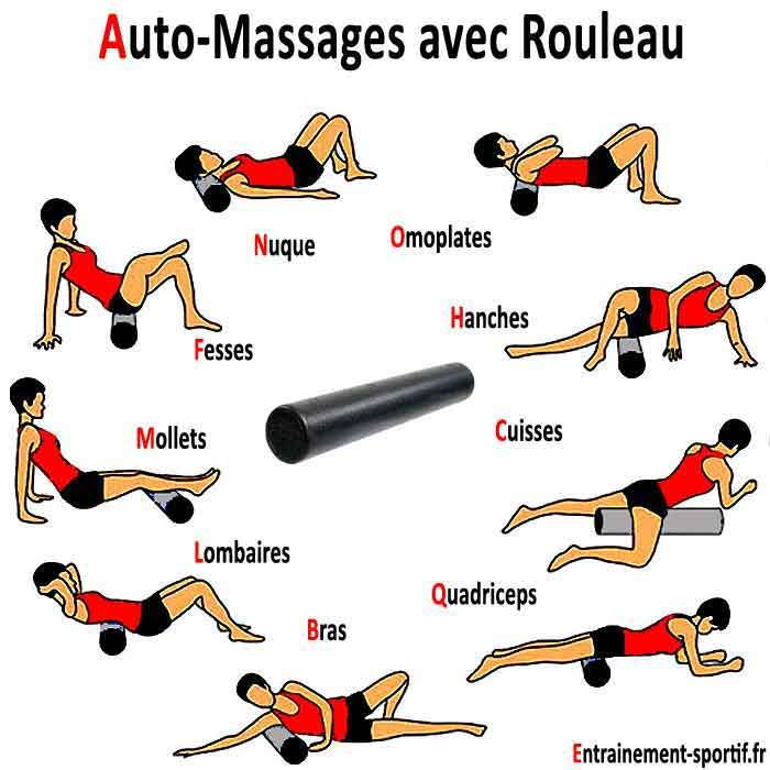 rouleau d'auto massage