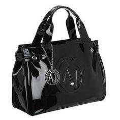 sac a main armani noir