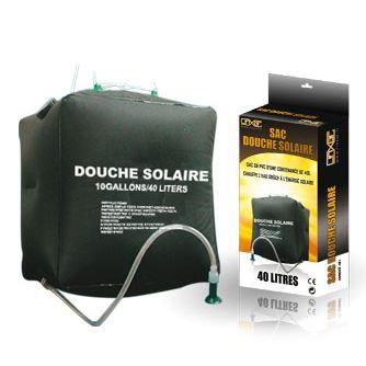 sac de douche solaire