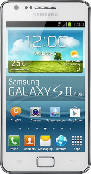 samsung galaxy s2 taille