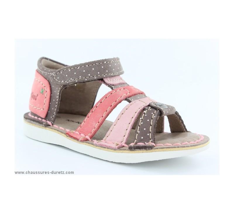sandales kickers fille