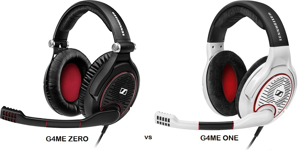 sennheiser game zero ou game one