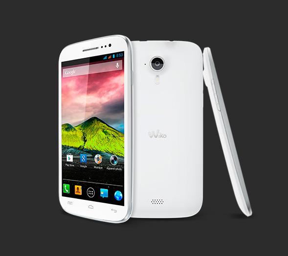 smartphone wiko cink five