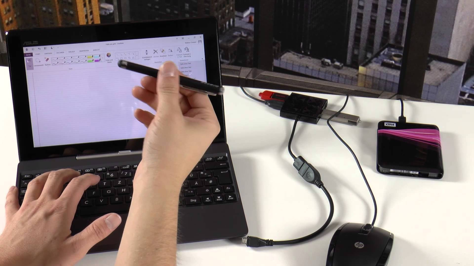 stylet asus t100