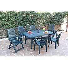 table de jardin chez amazon