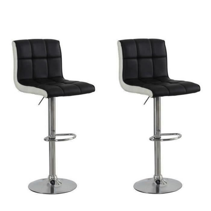tabouret de bar lot de 2