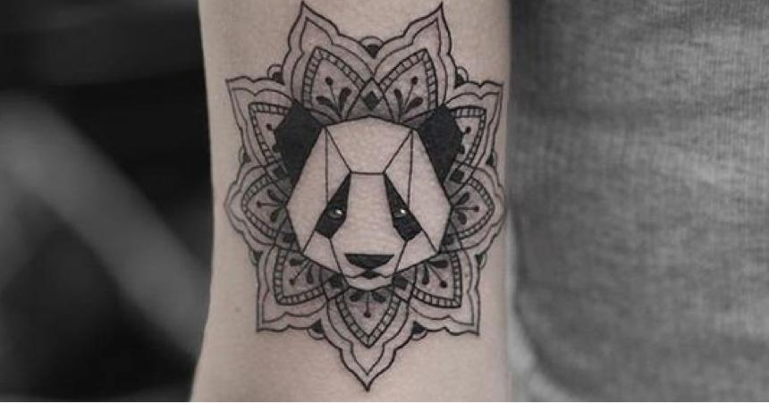 tatouage panda