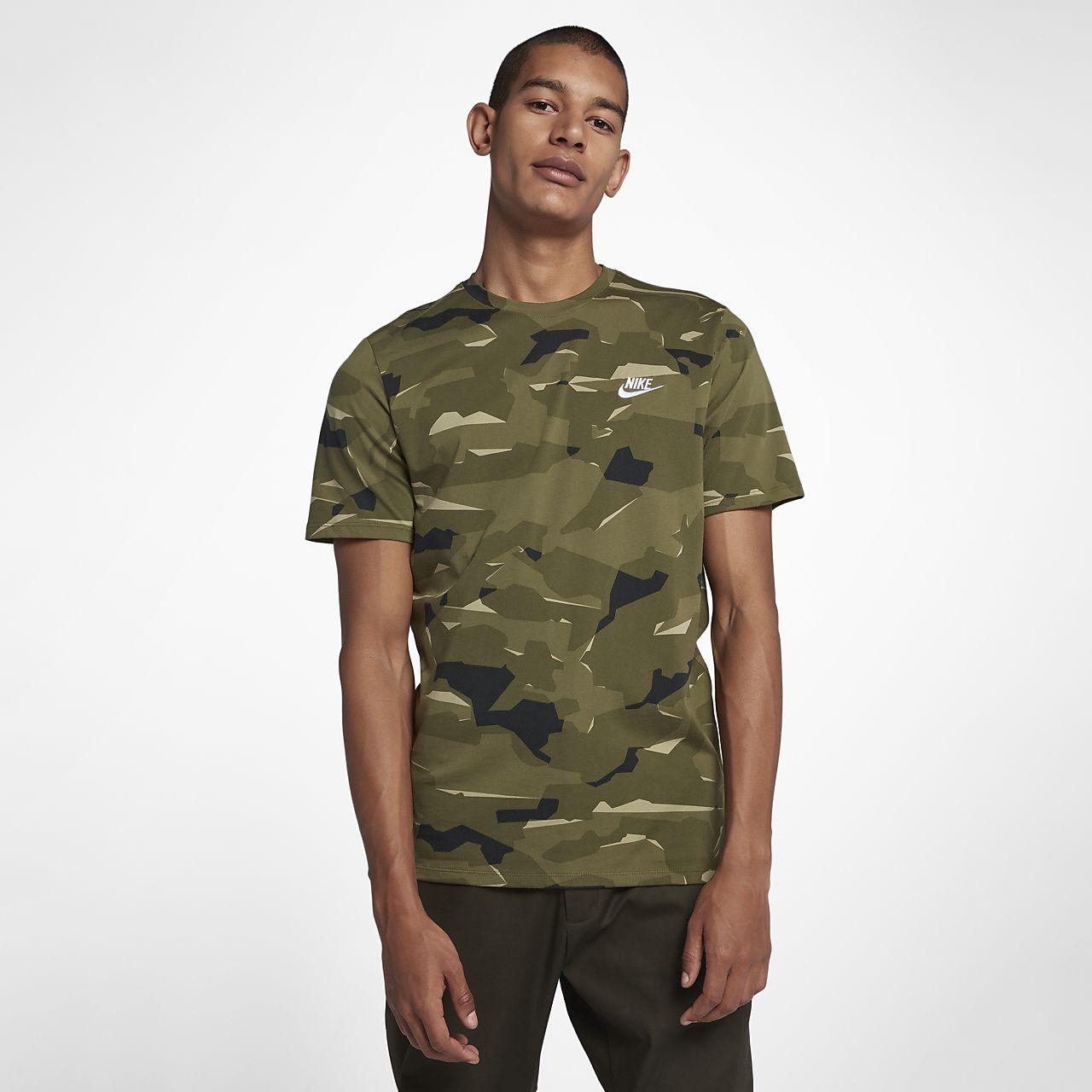 tee shirt nike militaire