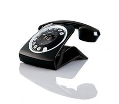 telephone fixe design retro