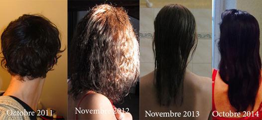 temps de pousse cheveux
