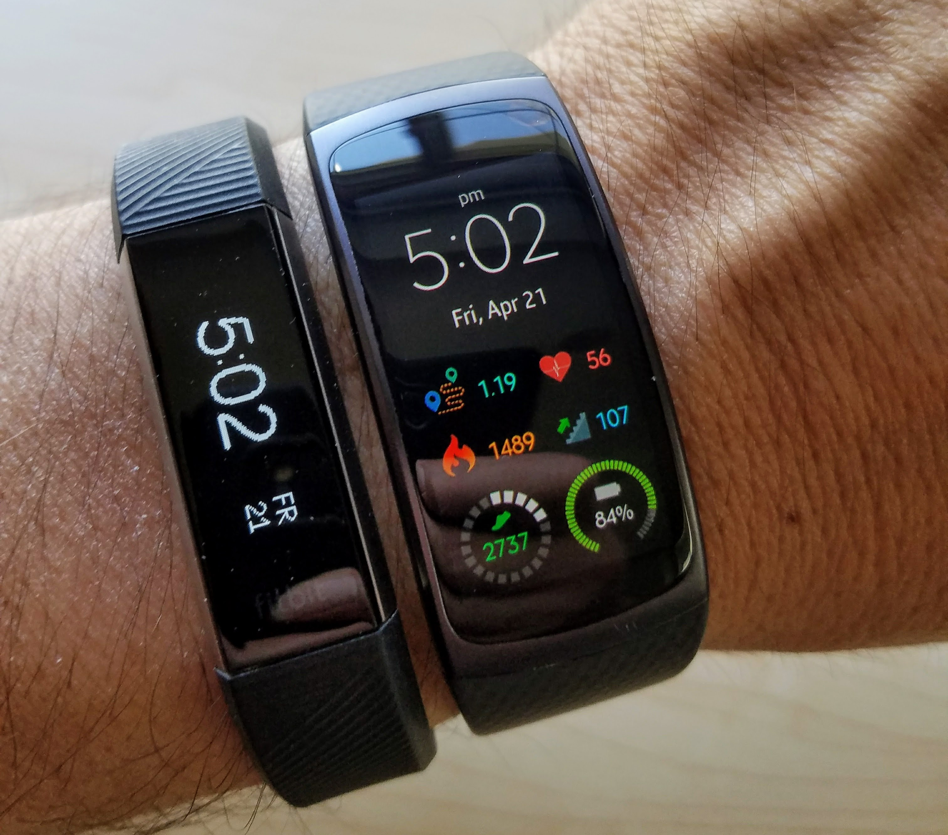 test samsung gear fit 2