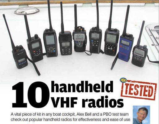 test vhf portable