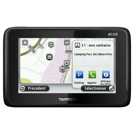 tomtom camping car