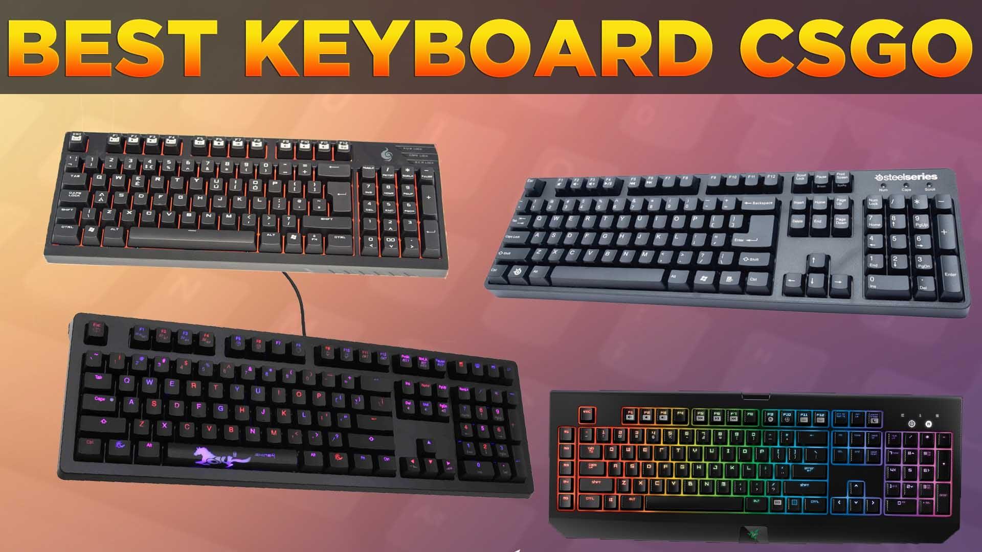 top clavier gamer