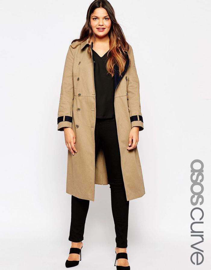 trench femme grande taille pas cher