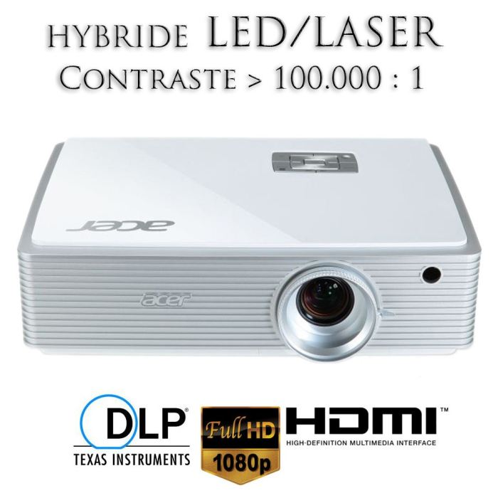 videoprojecteur led laser