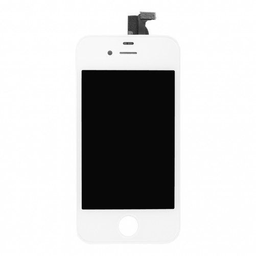 vitre iphone 4s blanc