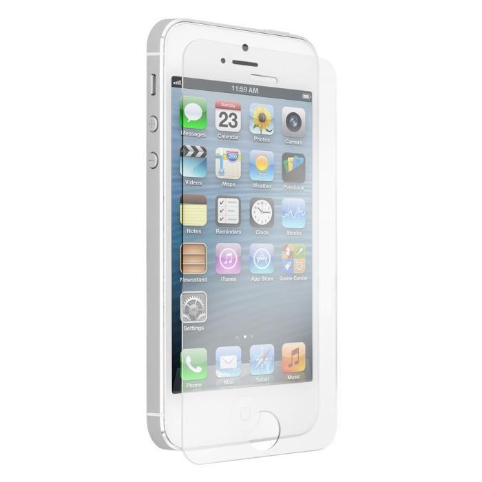 vitre verre trempé iphone 5s