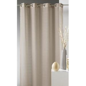 voilage taupe
