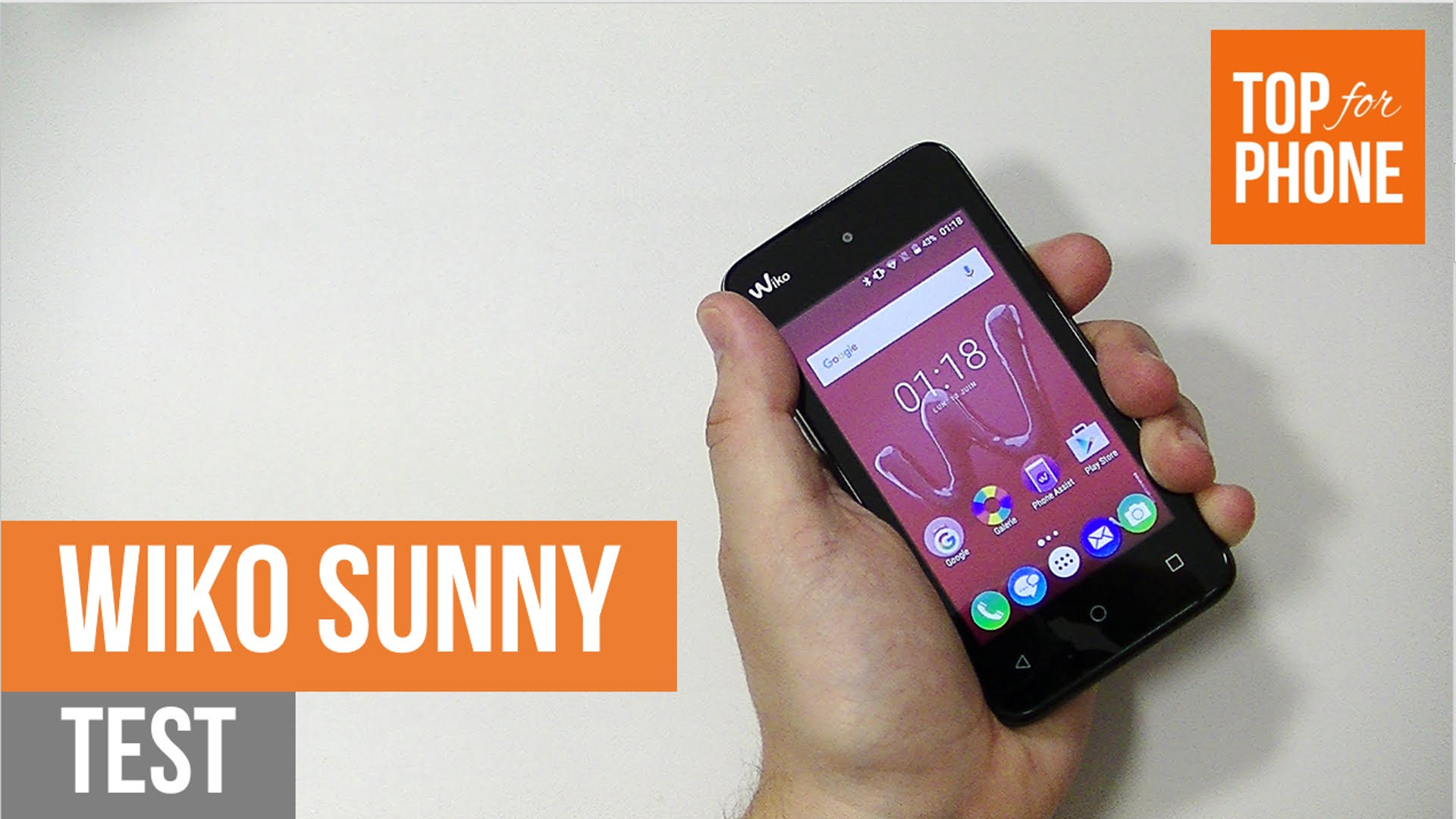 wiko sunny test
